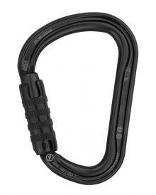 PETZL WILLIAM Karabijnhaak; Triact-Lock; Alu; 27mm; Zwart