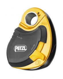 Petzl pulley Pro; loss-resistant
