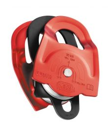 Petzl double Prusik pulley Twin; red