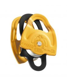 Petzl double Prusik pulley Gemini; yellow