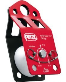 Petzl knot-passing pulley Kootenay; red